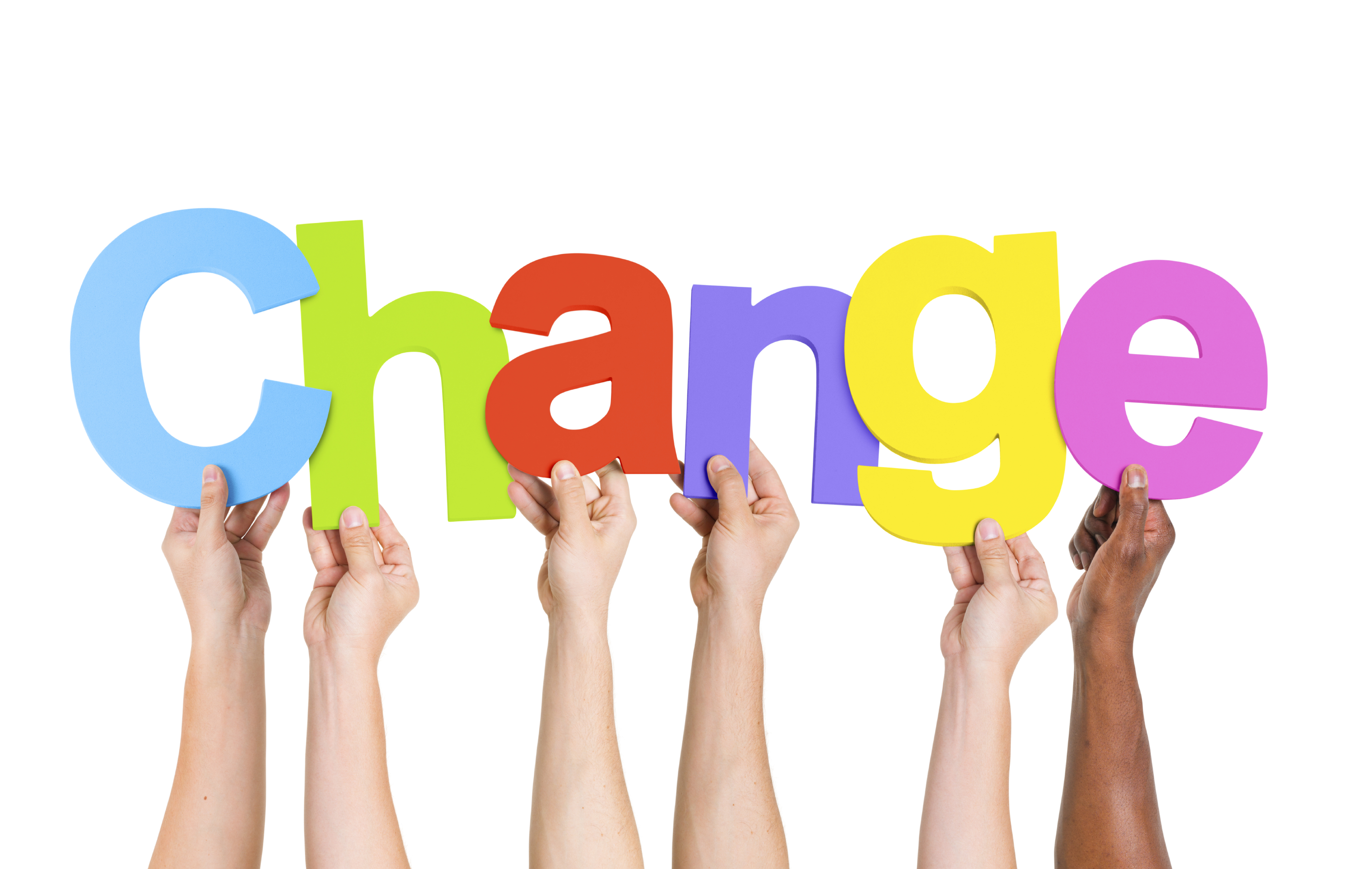 change management Businesses don't succeed by standing still close scrutiny of products, services,  and systems will always reveal room for positive change and helping people.